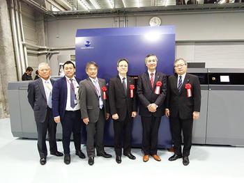 甲南堂印刷、未来の印刷工場「KONANDO Labo」内覧会に100名