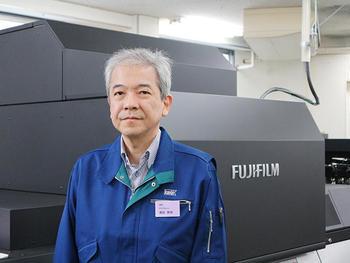 執行役員・プロダクショングループの増田朋幸部長