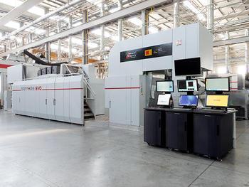 コダックとUteco、軟包装デジタル印刷機の3号機を北米に出荷