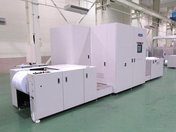 ミヤコシ、ワンタワーでフルカラー両面印刷を実現するコンパクトIJ機「MJP20EXG」披露
