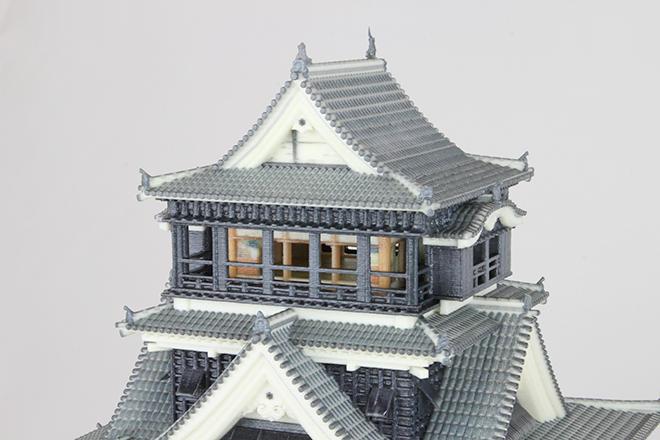 熊本城の天守閣(サンプル)