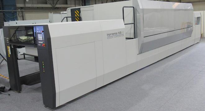 40インチ枚葉ナノグラフィックプリンティングシステム「Impremia NS40」