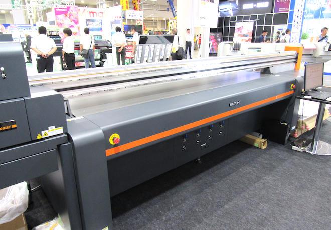 大型フラットベッド LED-UVプリンタ「PJ-2508UF」
