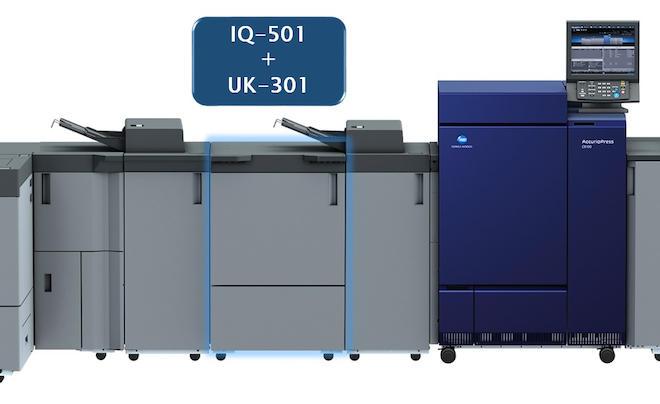新機能「自動検品システム」が追加されたIQ-501