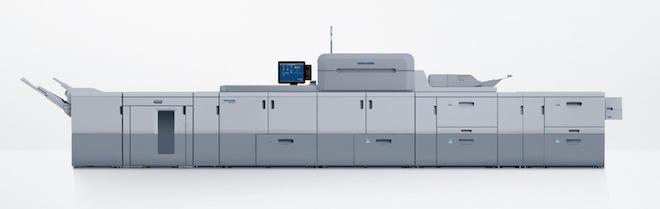 3台のバーサファイア導入により、小ロットもしくはバリアブル印刷によるカラー、モノクロ双方のデジタル印刷の生産量を増加している
