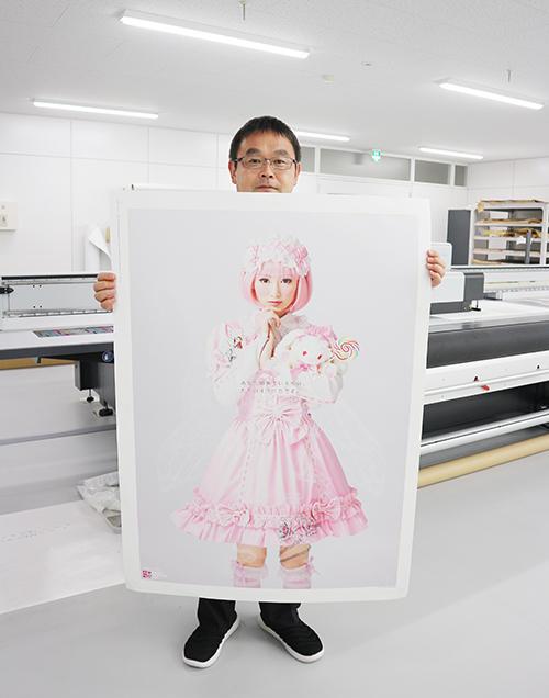 IJによる「オフセット品質」の大判ポスターに強み