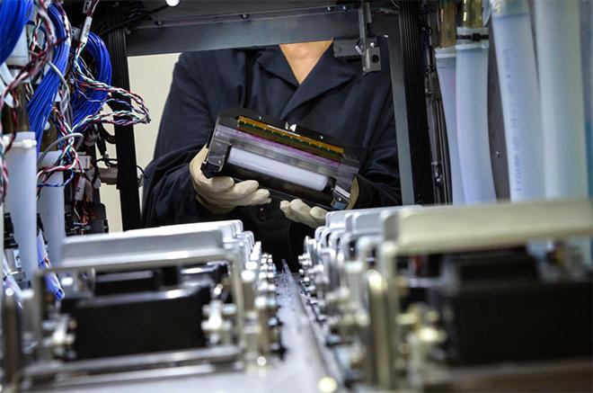 コダックのStreamインクジェットテクノロジーを搭載したジェッティングモジュール