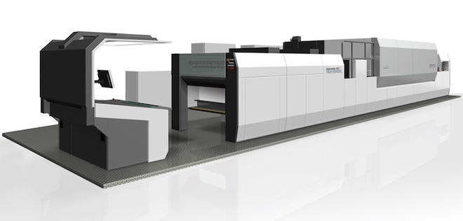 40インチ枚葉ナノグラフィックプリンティングシステム「インプレミアNS40」