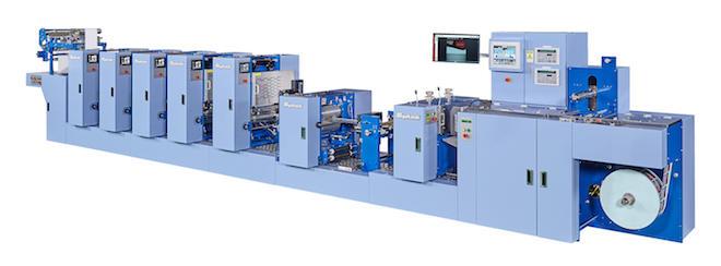 間欠オフセットラベル印刷機「MEL13A」