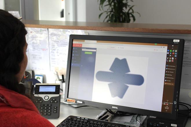 顧客はウェブ・トゥ・パックポータルでオリジナルパッケージを制作することができる