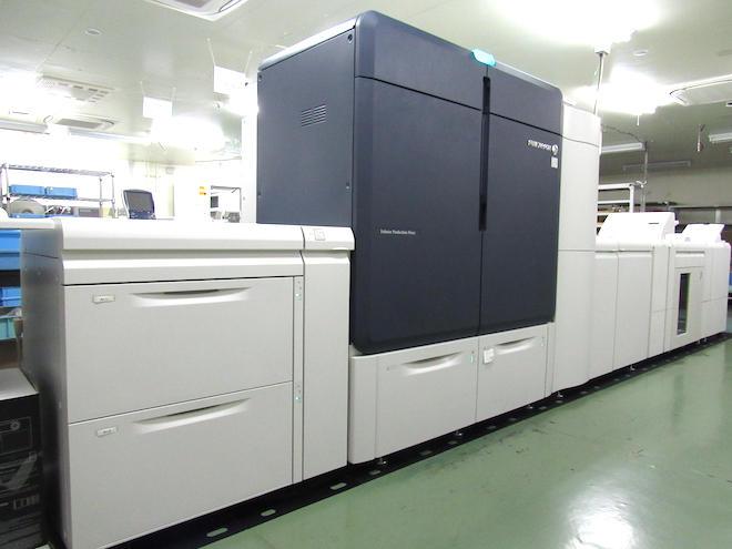 川崎工場に設置されたIridesse Production Press