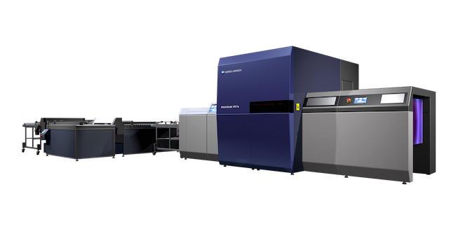 29インチ枚葉UVインクジェット印刷機「AccurioJet KM-1e」