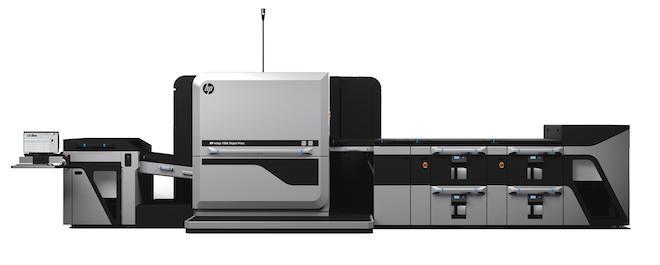 HP Indigo 100K デジタル印刷機