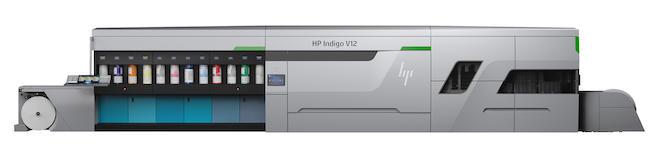 HP Indigo V12 デジタル印刷機