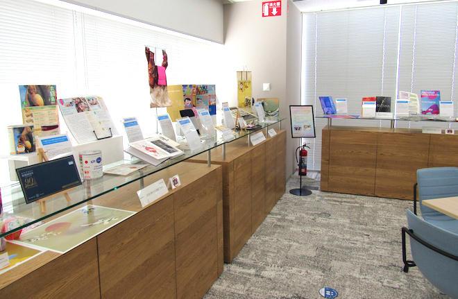 入賞作品は富士ゼロックスのショウルーム(東京都中野区)に展示されている