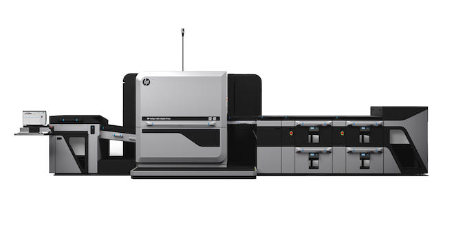 HP Indigo 100Kデジタル印刷機