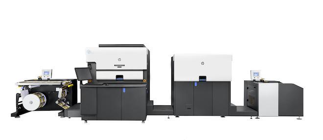 HP Indigo 6K Secure デジタル印刷機