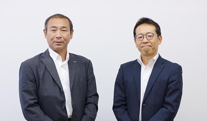 鈴木部長(左)と田村課長
