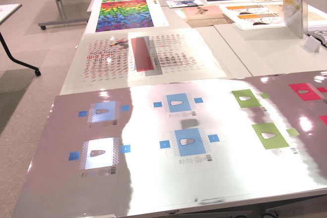 アルミ蒸着紙など特殊メディアへの印刷が可能